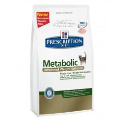 фото Корм сухой диетический для кошек Hill's Prescription Diet Feline Metabolic. Вес упаковки: 4 кг