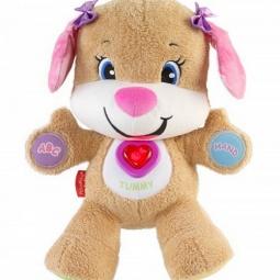 фото Мягкая игрушка интерактивная Fisher Price CJY86 «Сестричка ученого щенка»