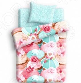 фото Комплект постельного белья 4You Капкейк, купить, цена