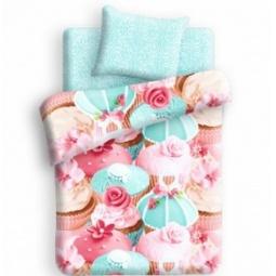 Купить Детский комплект постельного белья 4You Капкейк