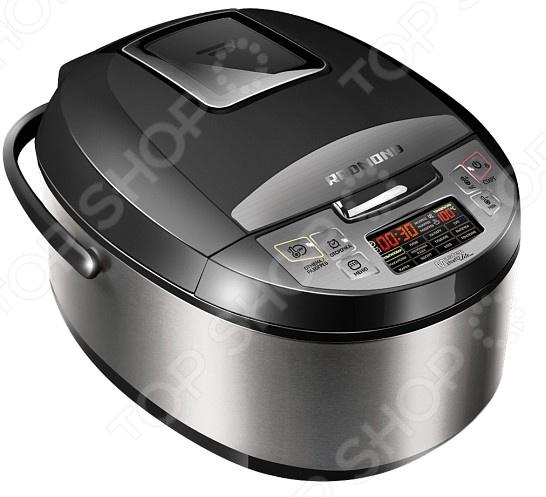 Мультиварка Redmond RMC-M4510Мультиварки<br>Мультиварка Redmond RMC-M4510 - устройство, которое позволит воплотить ваши кулинарные фантазии и накормить семью разными вкусностями, быстро и качественно. Это отличная многофункциональная мультиварка, способная заменить кучу кухонных принадлежностей и значительно сэкономить время при утреней готовке. В ней можно приготовить диетическую пищу, детское питание, жарить, тушить и печь. Мультиварка Redmond оснащена керамическим антипригарным покрытием емкости, которая не даст пригореть еде и сохранит в продуктах все микроэлементы. Основные функции:  функция постоянной поддержки температуры - блюдо будет всегда нагрето и готово к употреблению.  отложенный старт - можно настроить начало готовки на определенный промежуток и устройство автоматически начнет работать в установленное время.  MasterChefLite - функция шеф-повара, которая поможет приготовить любимые блюда автоматически 13 программ . Благодаря встроенному дисплею, можно быстро и легко выбрать необходимую программу приготовления или произвести нужные настройки. Список основных блюд, которые можно приготовить с помощью мультиварки:  Молочная каша  Суп  Плов  Гречка  Йогурт С этим устройством, вам не придется просиживать кучу времени за плитой, а большой спектр возможностей для приготовления блюд, разнообразит повседневное меню.<br>