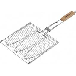 Купить Решетка-гриль для рыбы трехместная Grinda Barbecue 424721