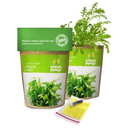 Купить Набор для выращивания Happy Plant «Руккола рокет»