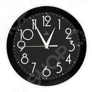 Часы настенные Вега П 1-6/7-280 «Черная классика» часы настенные вега п 1 7 7 271 классика