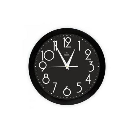 Купить Часы настенные Вега П 1-6/7-280 «Черная классика»