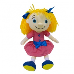 фото Мягкая кукла интерактивная Maxi Play «Подружка-блондинка»