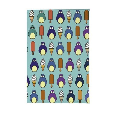 Купить Обложка для паспорта Mitya Veselkov «Пингвины и эскимо»