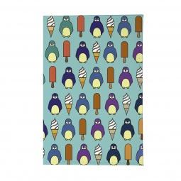 фото Обложка для паспорта Mitya Veselkov «Пингвины и эскимо»