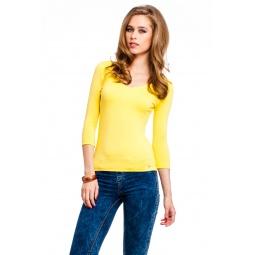 фото Кофта Mondigo 052. Цвет: желтый. Размер одежды: 42