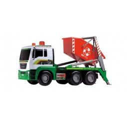 фото Машинка игрушечная Dickie «Мусоровоз с большим контейнером» AirPump
