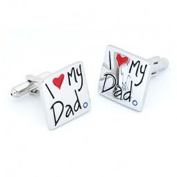 Купить Запонки Mitya Veselkov I love my Dad