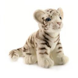 фото Мягкая игрушка для ребенка Hansa «Тигренок белый»