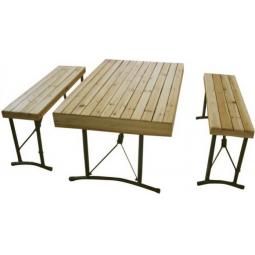 фото Набор мебели деревянный в кейсе Tramp TRF-017