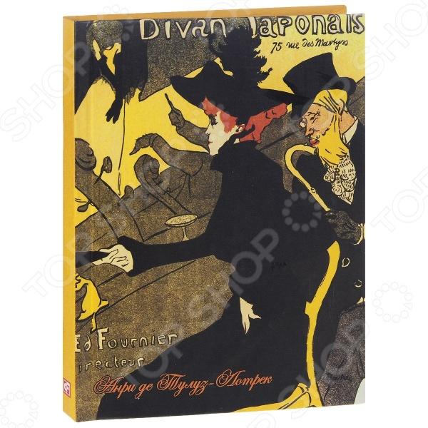 Блокноты. Тетради Фолио 978-966-03-6602-2 Анри де Тулуз-Лотрек. Divan Japonais. Блокнот (коричневая бумага)
