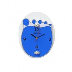 фото Часы настенные Marmiton «Ступня». Цвет: голубой