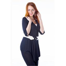 фото Кардиган Mondigo 8514. Цвет: черный. Размер одежды: 46