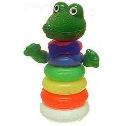 фото Игрушка-пирамидка малая Плэйдорадо «Крокодил»