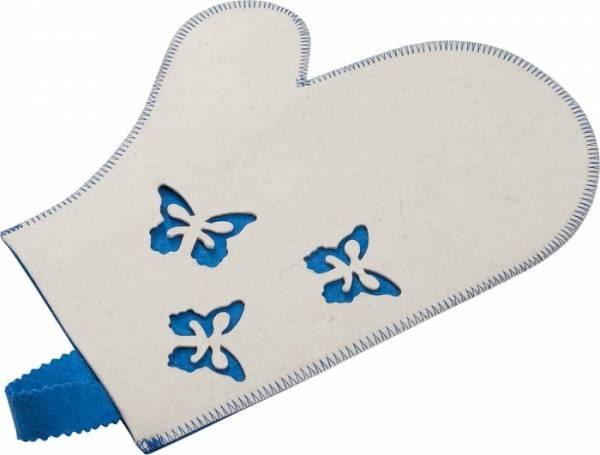 Рукавица для бани и сауны Банные штучки «Бабочки» 41135 рукавица для бани и сауны банные штучки 33262