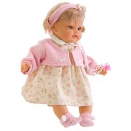 фото Кукла интерактивная Munecas Antonio Juan «Карла в розовом»