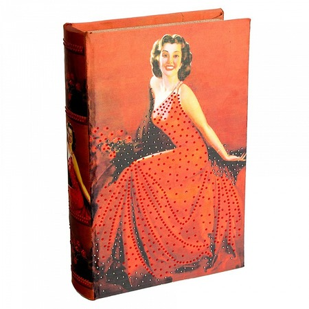 Купить Книга-сейф Alparaisa «Скарлетт»