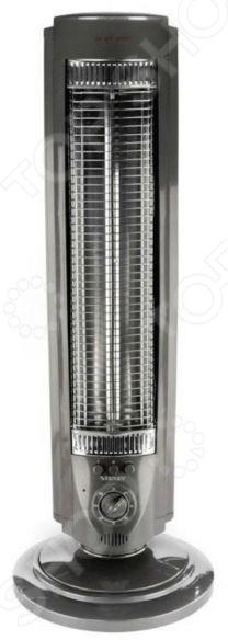 Обогреватель карбоновый NS-600DИнфракрасные обогреватели<br>Обогреватель карбоновый NS-600D потребляет меньше электроэнергии в 2-2.5 раза, чем обычный. Это осуществляется за счёт того, что теплопроводность карбонового волокна намного выше, чем металла, используемого в качестве нагревательного элемента в обычных обогревателях. Карбоновое волокно имеет неограниченный срок службы в отличие от металлического проводника или трубки заполненной газом, которые имеют ограниченный ресурс работы. Обогреватель оснащен устройством, которое автоматически отключает нагревательный элемент, если обогреватель находится в неправильном положении. Имеет 2 режима работы 400 800 Вт. Обогревает помещения до 30 кв.м. Оснащен таймером отключения.<br>