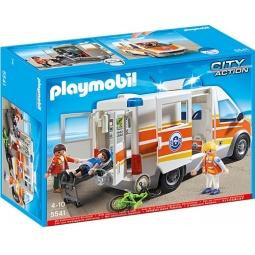 фото Конструктор игровой Playmobil «Береговая охрана: Машина скорой помощи с сиреной»