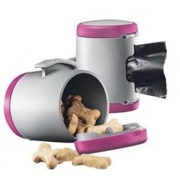 фото Коробочка универсальная для корма Flexi VARIO & New Classic. Цвет: розовый