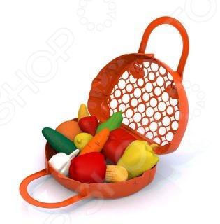 Игровой набор для девочки Нордпласт «Фрукты, овощи»