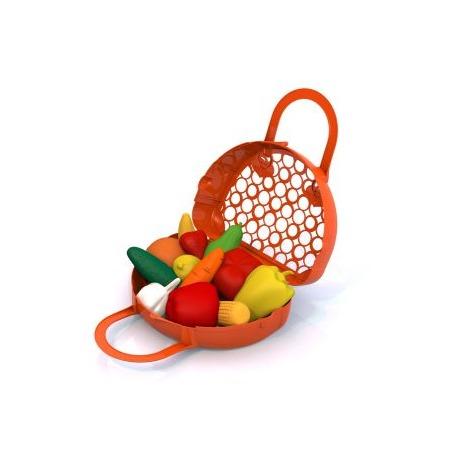 Купить Игровой набор для девочки Нордпласт «Фрукты, овощи»