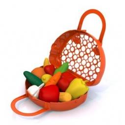 фото Игровой набор для девочки Нордпласт «Фрукты, овощи»
