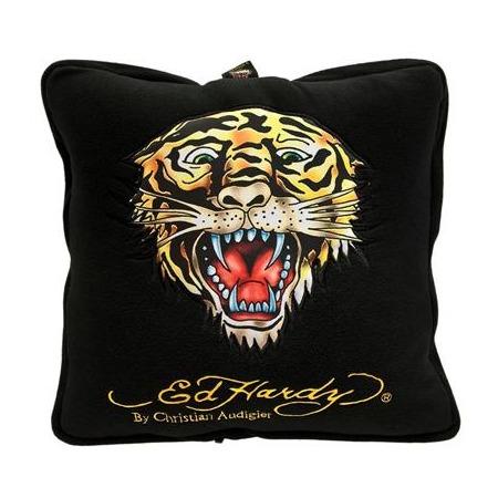 Купить Подушка-плед ED Hardy EH-00214 Tiger