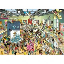 Купить Пазл 2000 элементов Heye «Выставка»