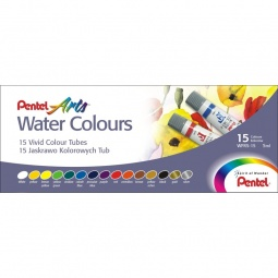 фото Акварель Pentel Pentel Water Colours: 15 цветов