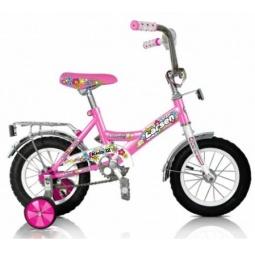 фото Велосипед Larsen Kids 12, 2013 года. Цвет: розовый