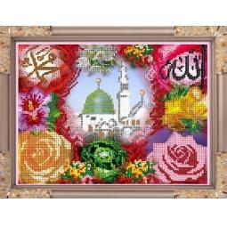 Купить Набор для вышивания бисером Светлица «Мечеть в цветах»