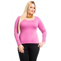фото Кофта Mondigo XL 436. Цвет: темно-розовый. Размер одежды: 52