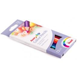 фото Набор карандашей цветных Pentel Colour pencils: 12 цветов