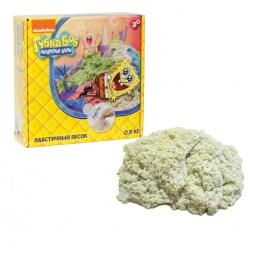 фото Песок кинетический 1 Toy «Губка Боб». Цвет: бежевый