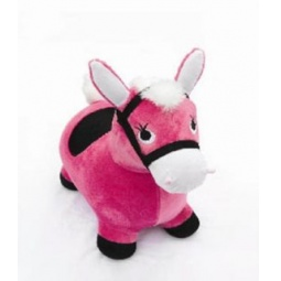 фото Игрушка-попрыгунчик Наша Игрушка «Лошадка». Цвет: розовый