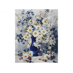 фото Набор для живописи Белоснежка «Любимые цветы»