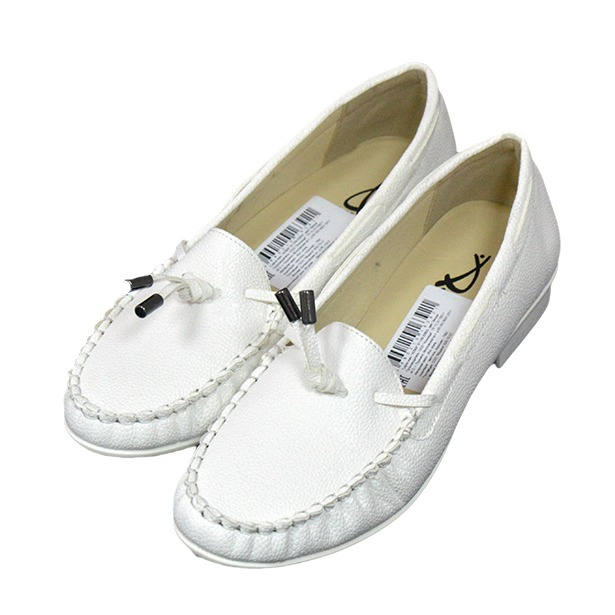 96970e9fe Мокасины женские АЛМИ Лето. Цвет: белый купить по низкой цене в ...