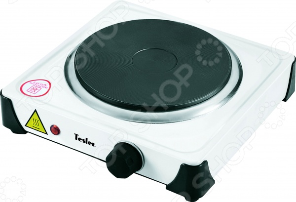 Плита настольная Tesler PE-10 электрическая плитка tesler pe 10 white pe 10 white