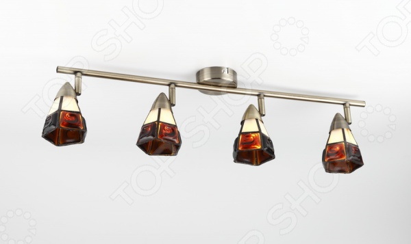 Светильник настенно-потолочный Rivoli Arlington-W C-4 это светильник, способный служить как дополнительным, так и основным источником света в небольшой комнате . Потолочный светильник подходит для комнаты с низким потолком, поскольку занимает совсем немного места. Дизайн светильника это важный акцент интерьера. Вместе с бра или подсветкой он создает интересный световой ансамбль, преображающий комнату. Два варианта установки: настенное или потолочное.