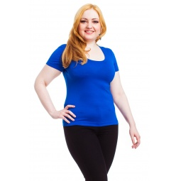 фото Футболка Mondigo XL 490. Цвет: синий. Размер одежды: 52