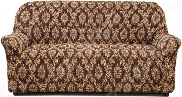 Натяжной чехол на трехместный диван «Виста. Классик Коричневый»Чехлы на диваны<br>Свежо и стильно Натяжной чехол на трехместный диван Виста. Классик Коричневый вдохнет в вашу мебель новую жизнь. Рано или поздно, но каждый из нас сталкивался с такой проблемой: интерьер в комнате уже приелся, а делать ремонт или покупать новую мебель чрезвычайно затратно и трудоемко. Но на данный момент этот вопрос можно решить довольно быстро. Чтобы привнести в помещение свежесть и уют, можно воспользоваться различными декоративными элементами, а мебель покрыть натяжными чехлами.  Почему стоит купить натяжной чехол Старый диван, кресла или стулья, которые дополнены натяжными чехлами будут выглядеть как новыми, как будто только изготовлены на фабрике. Такой подход удобен даже в том случае, если ваша мебель с разной обивкой или не вписывается в цветовое оформление комнаты. Подберите чехол нужной расцветки, и зал, спальня или гостиная тут же преобразятся. Также стоит отметить, что изделие из коллекции Виста подойдет даже на мебель нестандартных форм и габаритов. При этом модель выполняет не только эстетическую функцию, но и защитную: от случайных пятен, царапин, протирания и шерсти животных.  Изделие сшито из приятной на ощупь ткани, обладающей следующими свойствами:  Прочность и износостойкость.  Безопасность и гипоаллергенность.  Прекрасная растяжимость за счет применения технологии bielastico эластичные нити расположены вдоль и поперек изнаночной стороны ткани .  Не садится, не линяет и не теряет цвет даже после множества стирок.  Не просвечивает и не требует глажки.  Изделие можно стирать в стиральной машине при температуре 30-40 C. Поставляется в виниловой сумке с ручкой на молнии. В комплект входит подробная инструкция. Одежда для вашей мебели Способов обновить старую мебель не так много. Чаще всего приходится ее выбрасывать, отвозить на дачу или мириться с потертостями и поблекшими цветами. Особенно обидно избавляться от мебели, когда она сделана добротно, но обивка подвела. Эту 