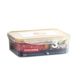 фото Набор контейнеров прямоугольных для продуктов Tescoma Freshbox 3. В ассортименте