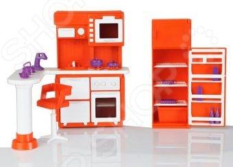 Мебель для куклы Огонек «Кухня» 01536 мебель для кухни