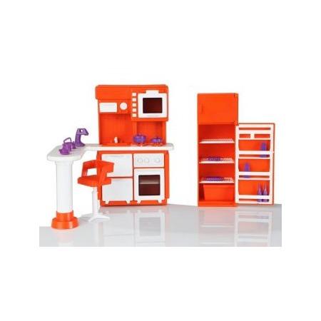 Купить Мебель для куклы Огонек «Кухня» 01536. В ассортименте