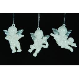 Купить Елочное украшение Crystal Deco «Ангелочек». В ассортименте