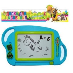 Купить Доска для рисования магнитная Shantou Gepai «Учись играя!» GB603R. В ассортименте